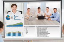 écrans géants collaboratifs